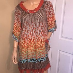 Unique boutique dress from Turkey size small.